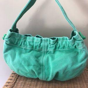GAP Green Canvas Bag